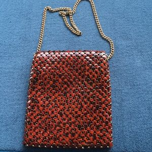 Mesh Whiting and Davis Evening Bag